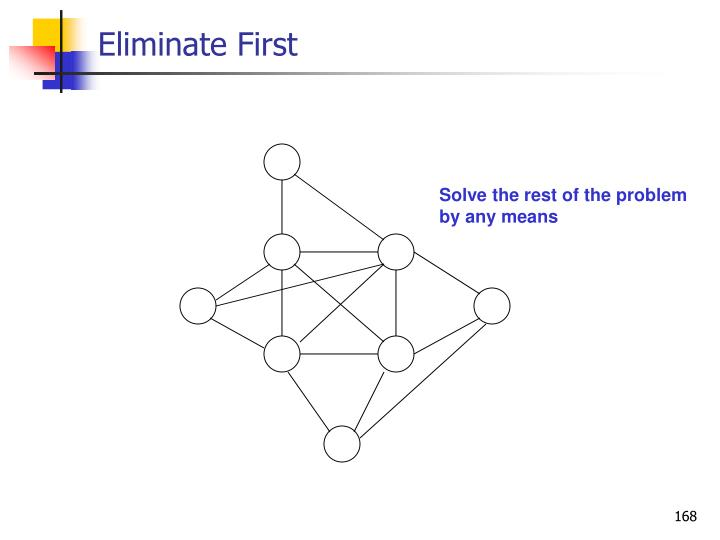 Eliminate First