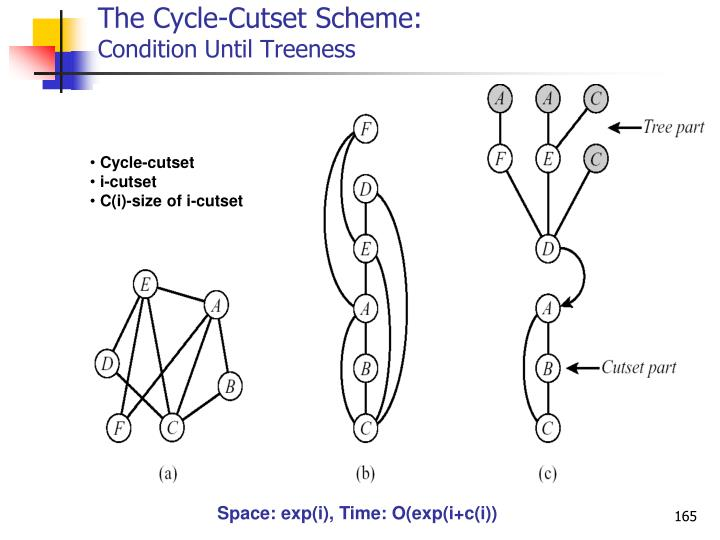 The Cycle-Cutset Scheme: