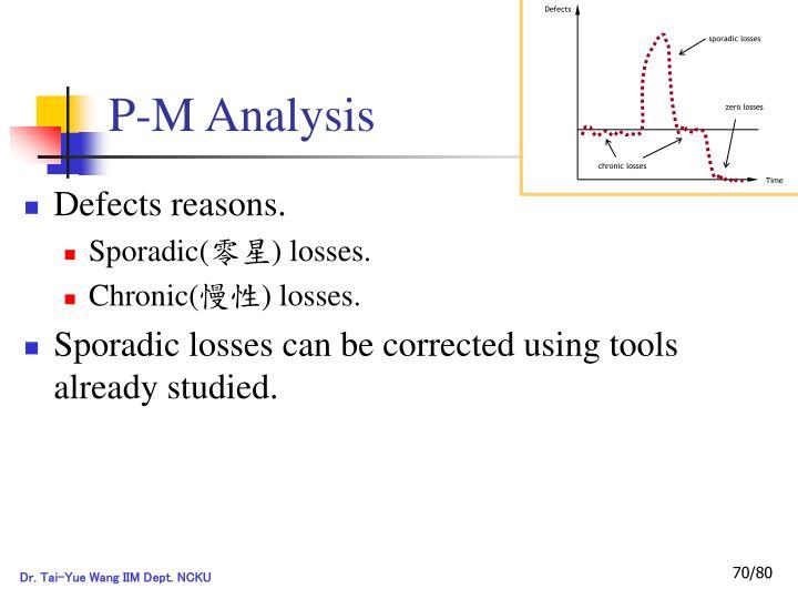 P-M Analysis