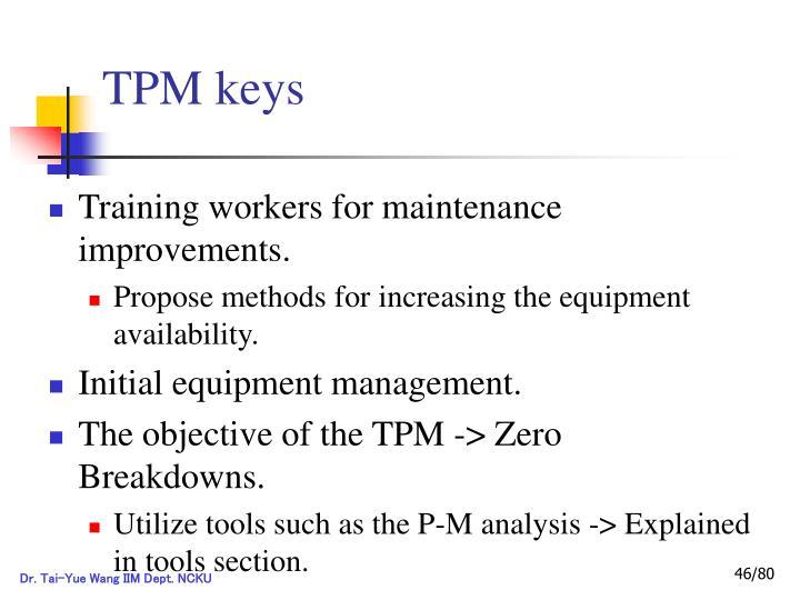 TPM keys