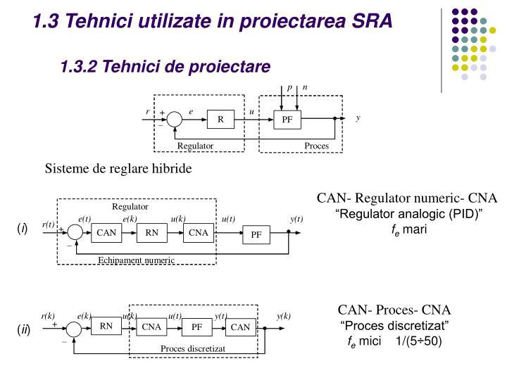 1.3 Tehnici utilizate in proiectarea SRA