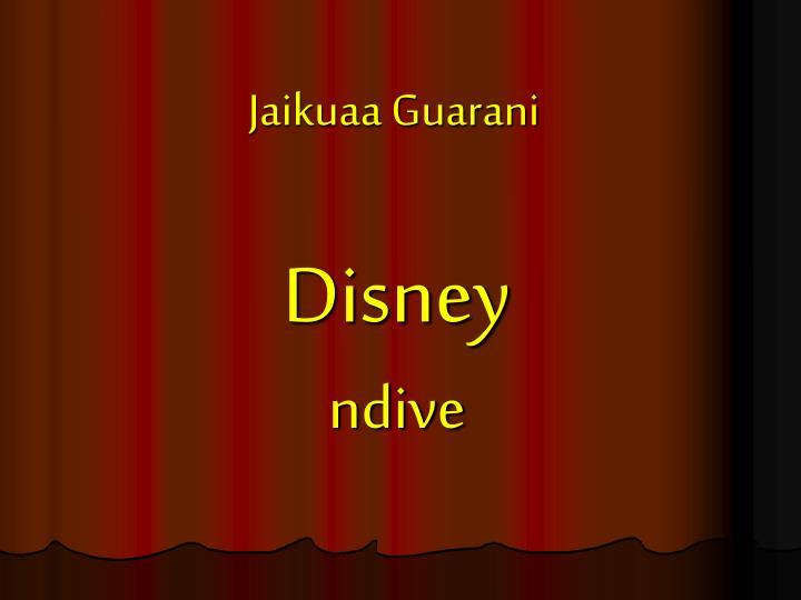 Jaikuaa Guarani