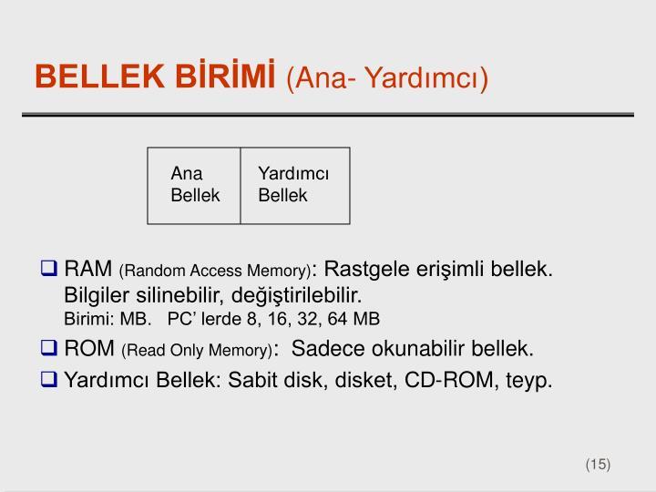 Ana Bellek