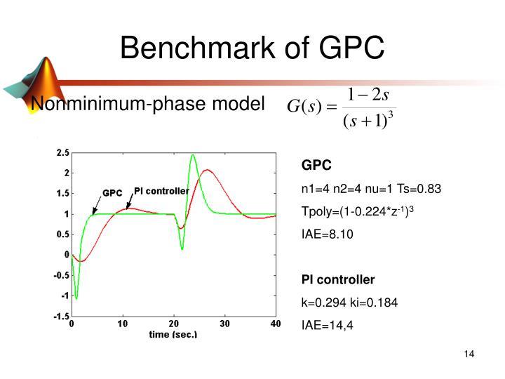 Benchmark of GPC