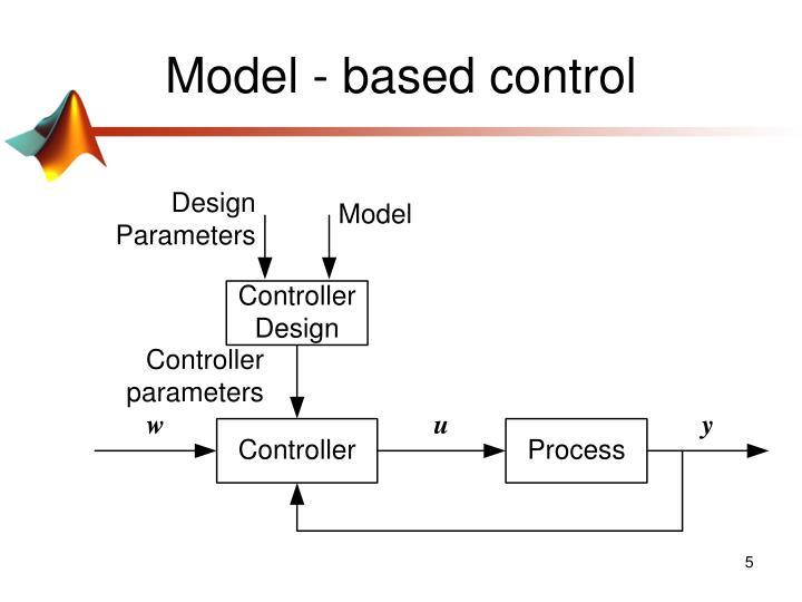 Model - based control