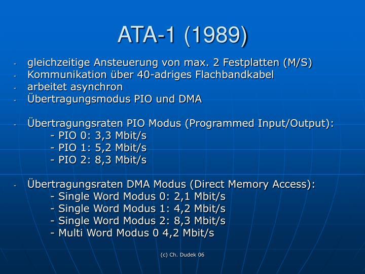 ATA-1 (1989)