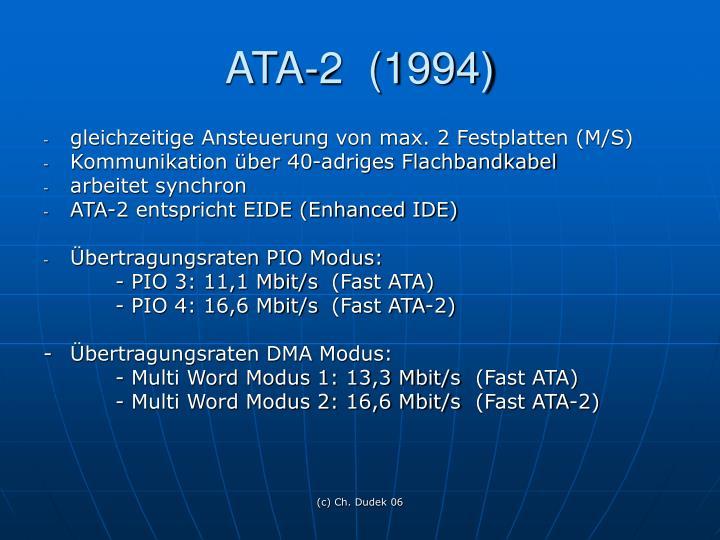 ATA-2  (1994)