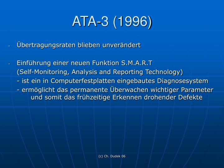 ATA-3 (1996)