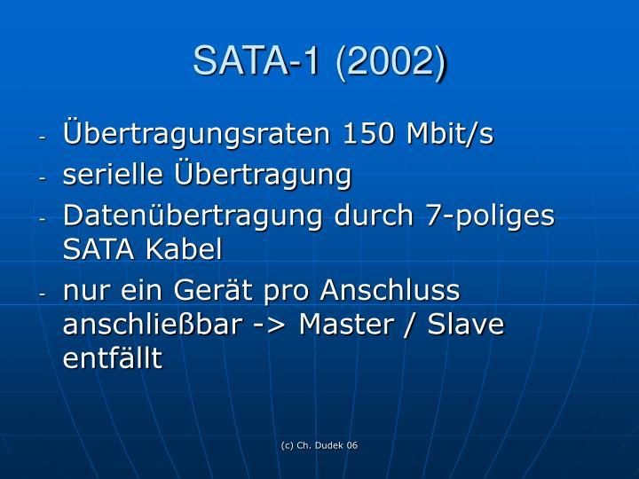 SATA-1 (2002)