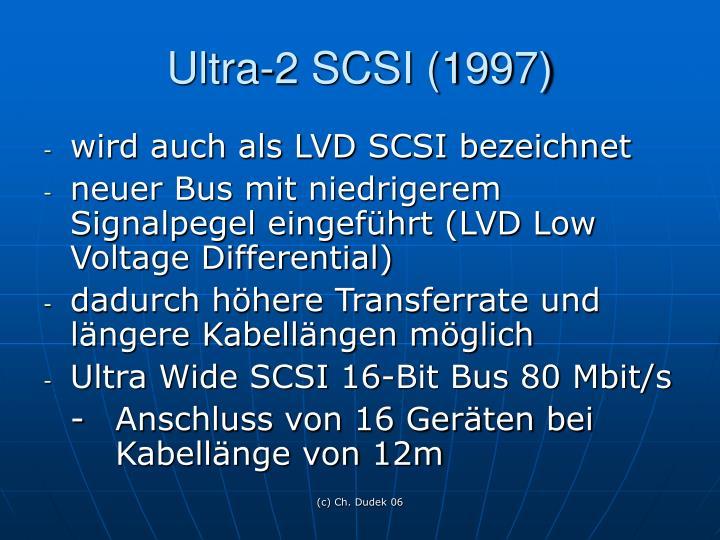 Ultra-2 SCSI (1997)