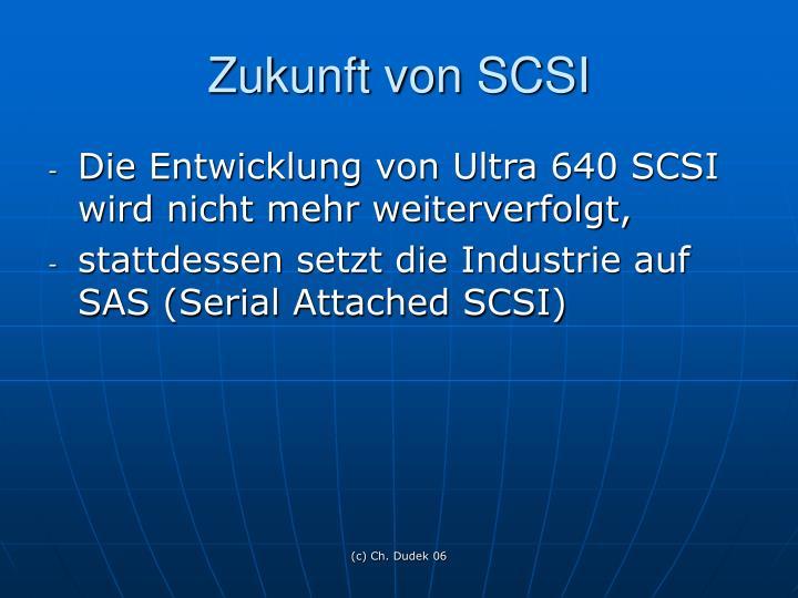 Zukunft von SCSI