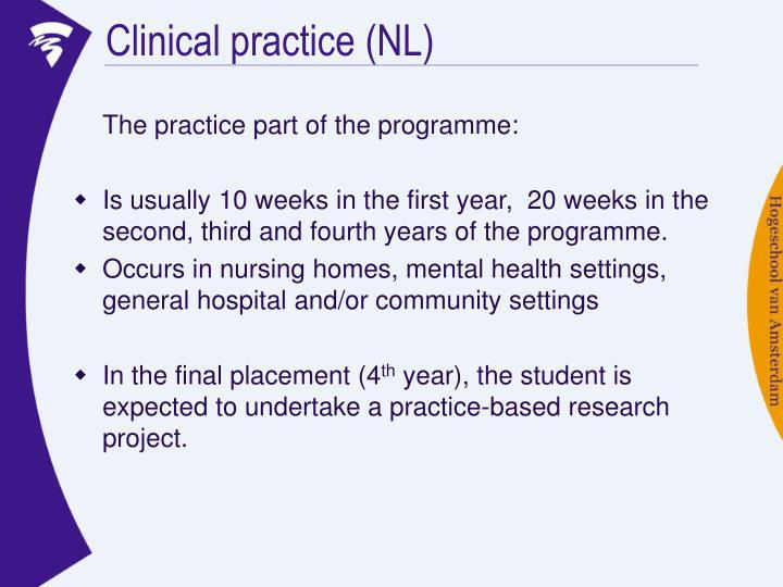 Clinical practice (NL)