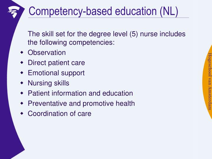 Competency-based education (NL)