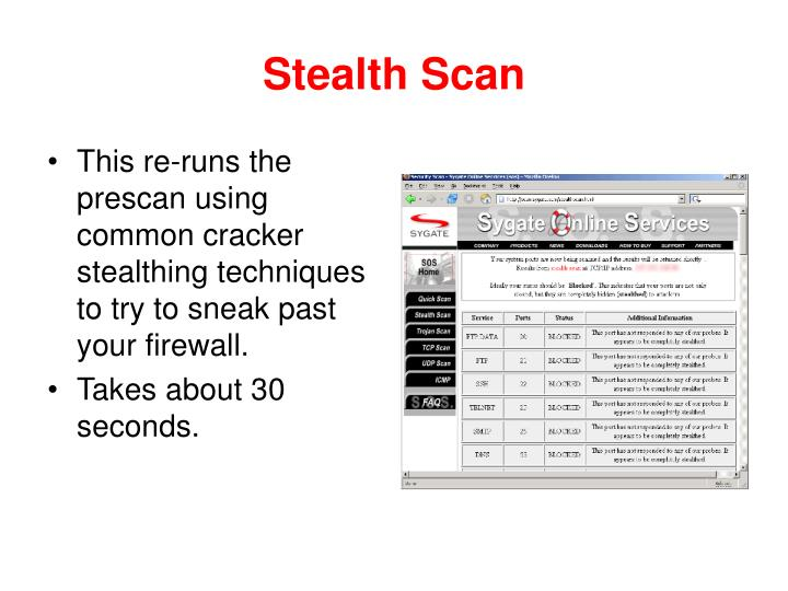 Stealth Scan