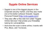sygate online services