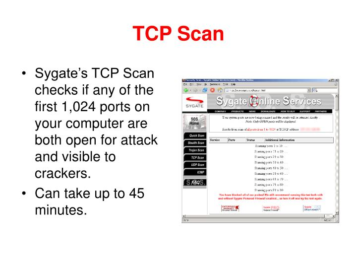 TCP Scan