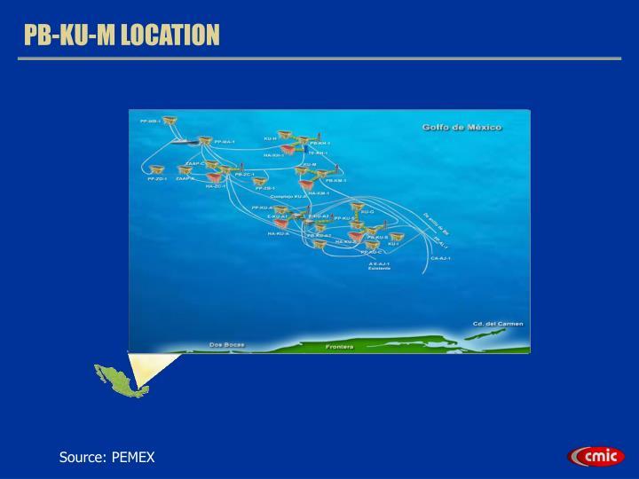 PB-KU-M LOCATION