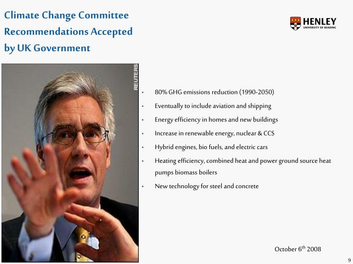 Climate Change Committee