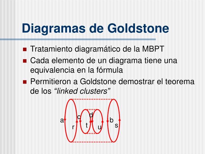 Diagramas de Goldstone