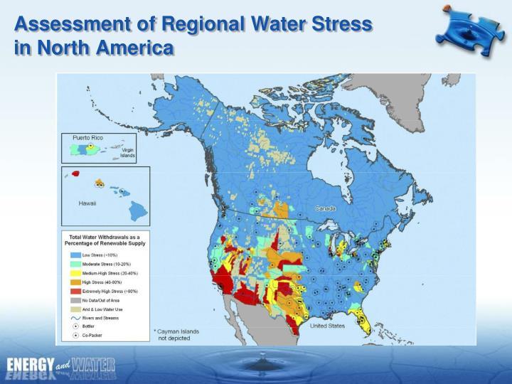 Assessment of Regional Water Stress