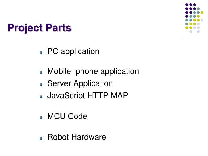 Project Parts