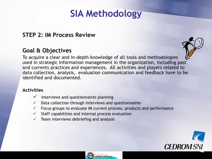STEP 2: IM Process Review