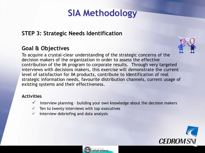 STEP 3: Strategic Needs Identification
