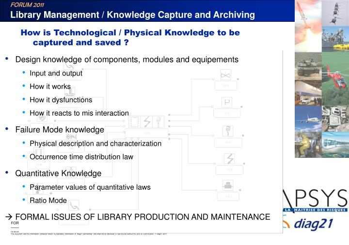 Library Management / Knowledge Capture and Archiving