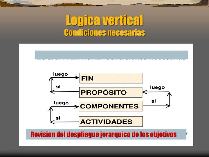 Logica vertical