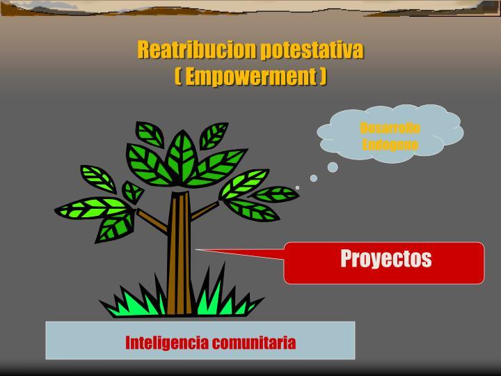 Reatribucion potestativa