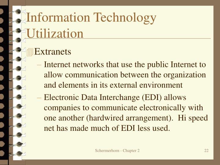 Information Technology Utilization