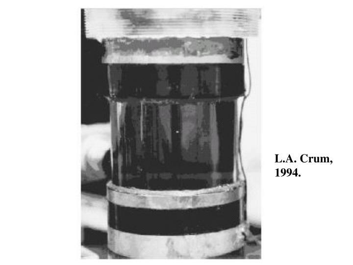 L.A. Crum,