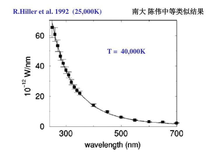 R.Hiller et al. 1992  (25,000K)