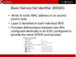 basic service set identifier bssid
