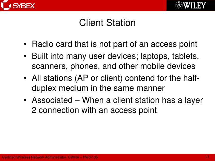 Client Station
