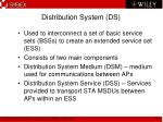 distribution system ds