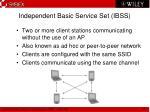 independent basic service set ibss