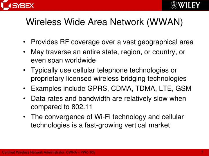 Wireless Wide Area Network (WWAN)
