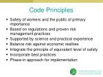 code principles