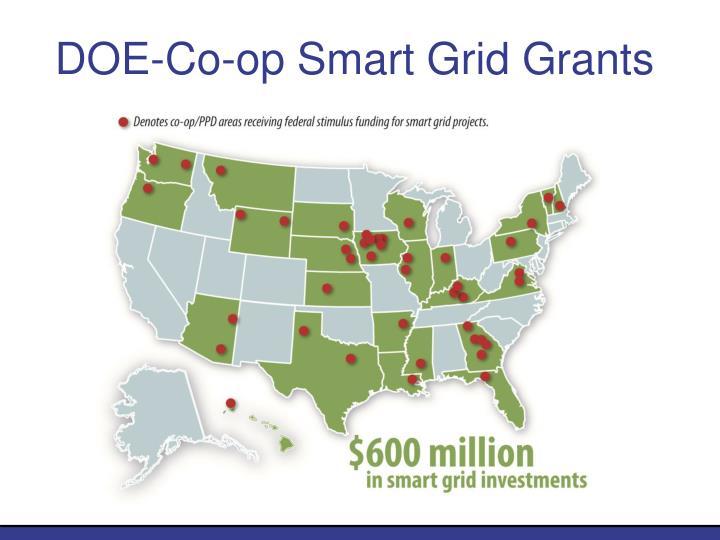 DOE-Co-op Smart Grid Grants