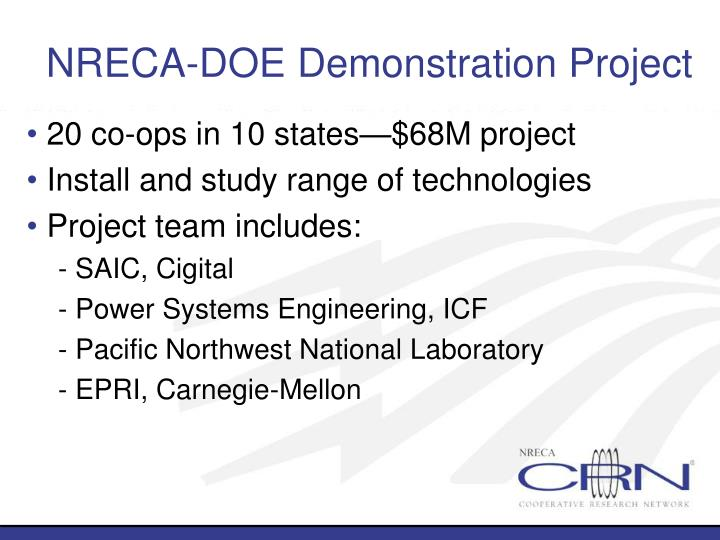 NRECA-DOE Demonstration Project