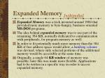 expanded memory wikipedia