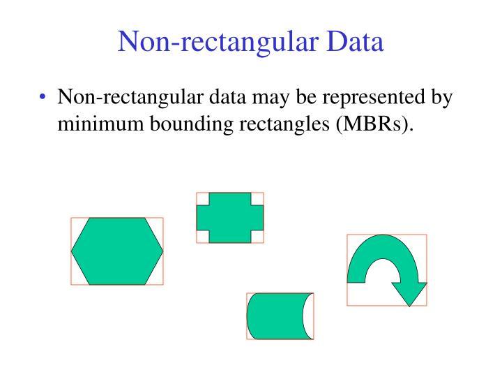Non-rectangular Data