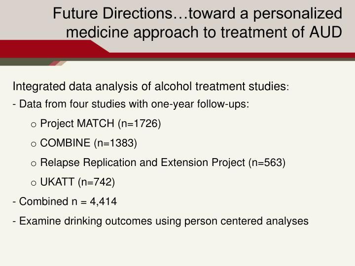 Integrated data analysis
