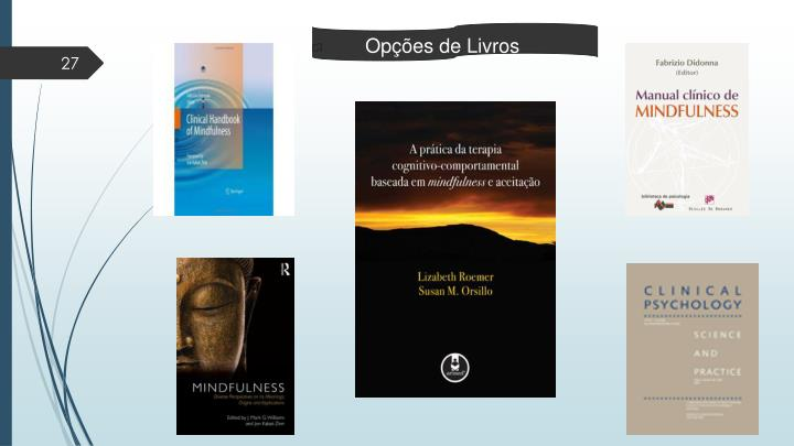 Opções de Livros