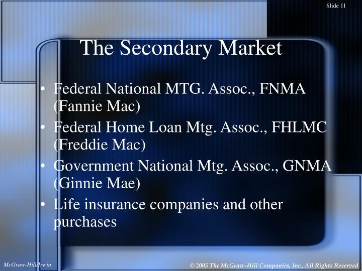The Secondary Market