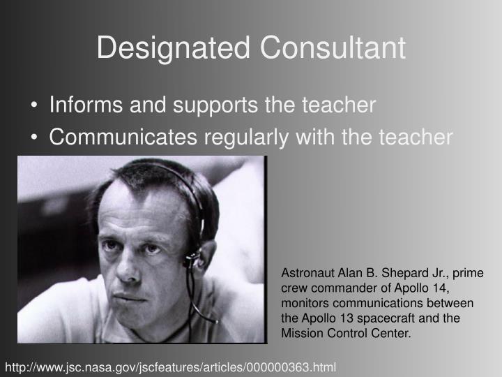 Designated Consultant