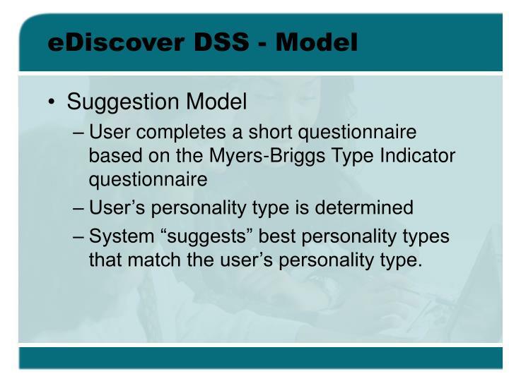 eDiscover DSS - Model