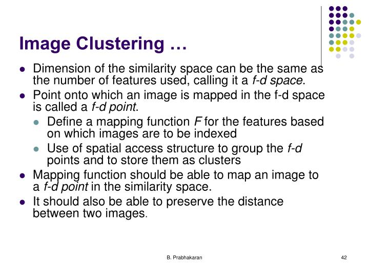 Image Clustering …