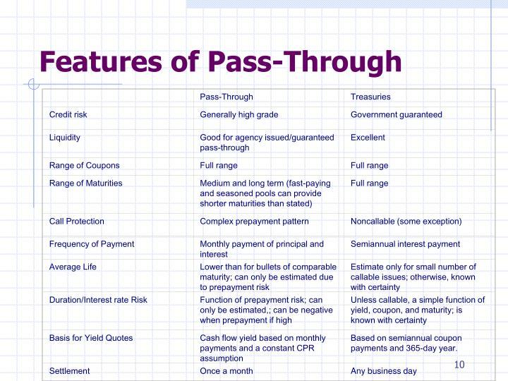 Pass-Through